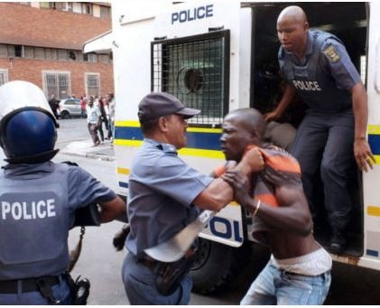 South African police reportedly kills a 27-Year old Nigerian