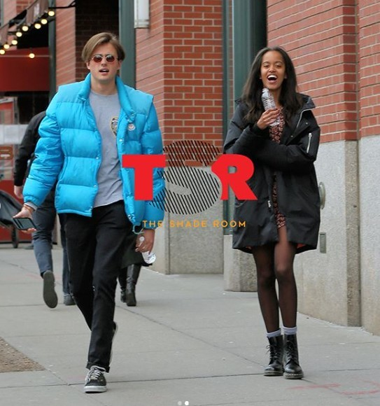 Malia Obama and bf  Rory Farquharson spotted showing some PDA in NYC