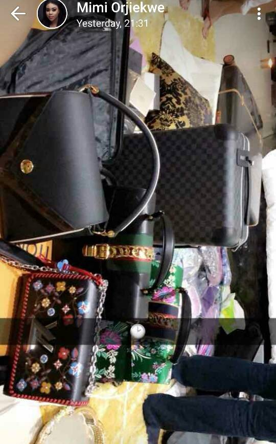 Actress Mimi Orjiekwe shows off her N1.3m Louis Vuitton bag
