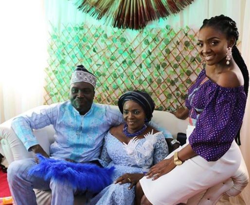 More photos from the wedding of Simi