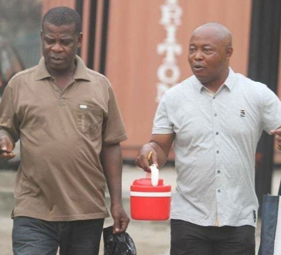 Photo: EFCC arraigns?Tochukwu Iwuoha and Jude Unagha for forgery
