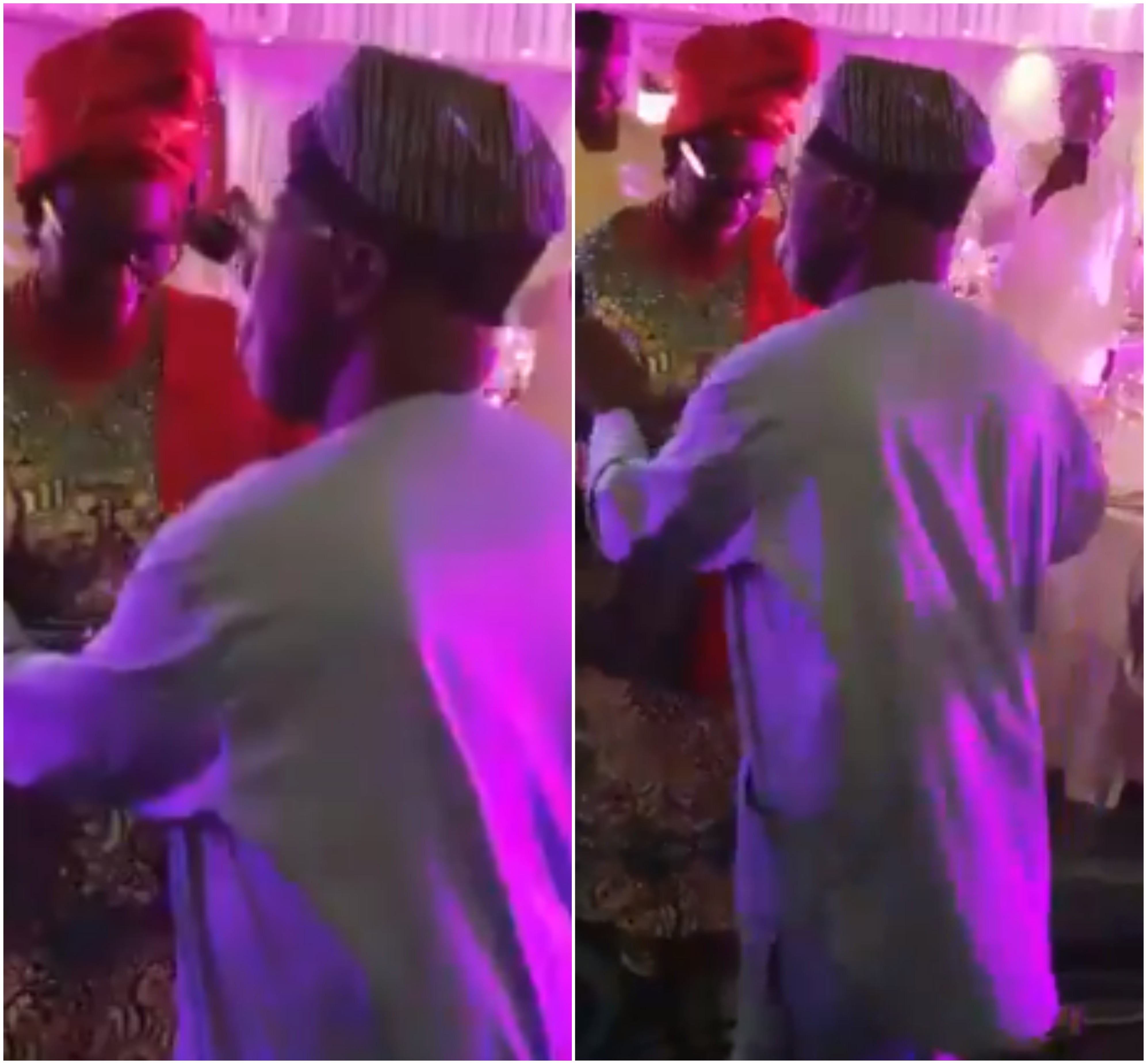 Ex-President Olusegun Obasanjo is such a good dancer......check him out dancing with his wife at his Ph.D graduation party (video)