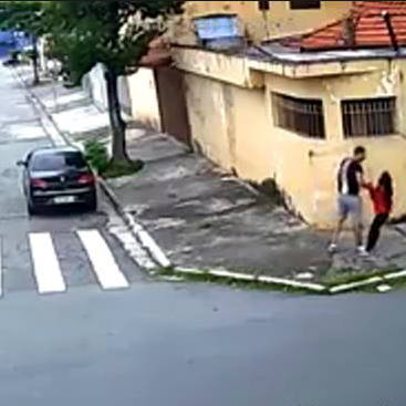Heartbreaking video shows a serial child rapist abducting a girl, 10, on her way to church and forcing her into his car where he raped her
