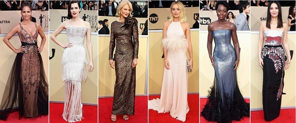 Stunning red carpet photos from the SAG Awards 2017