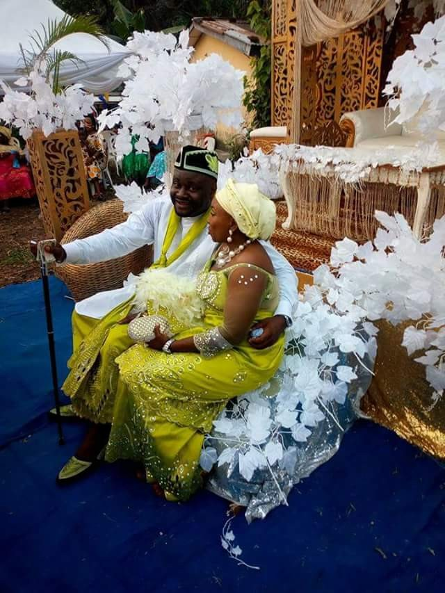Photos: Nigerian bride proudly rocks a bald head on her wedding day