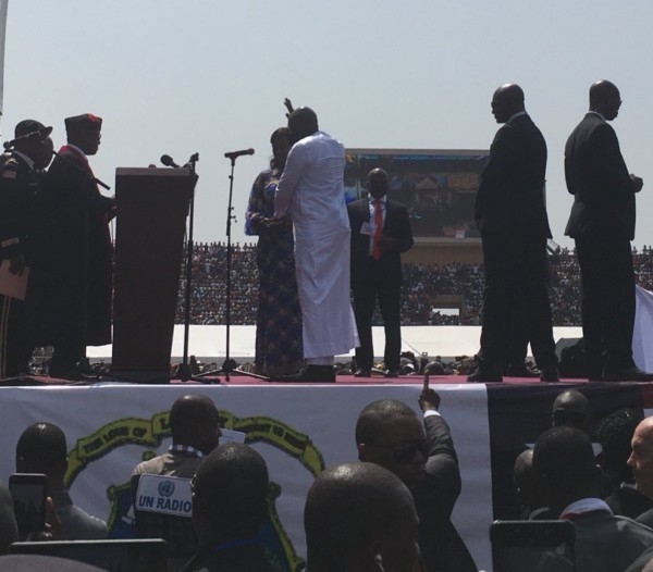 George Weah sworn in as Liberia?s 24th president (Photos)