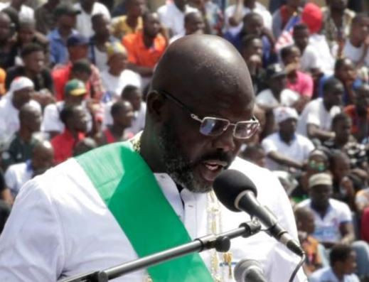 Full text:?George Weah