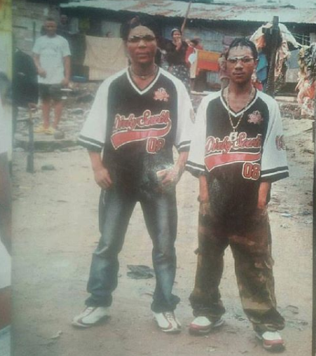 Check out this epic throwback photo of singer, Oritsefemi