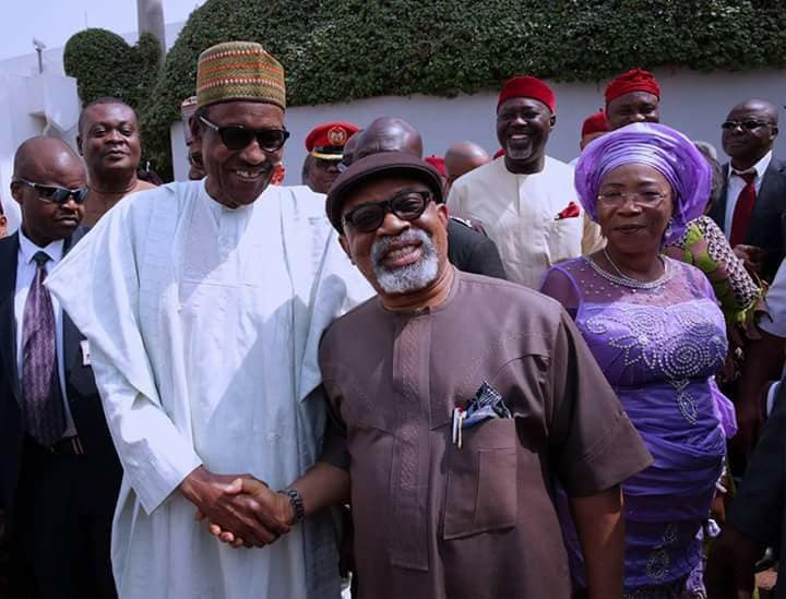BLOGMore Photos From President Buhari's Meeting With South East APC Leaders