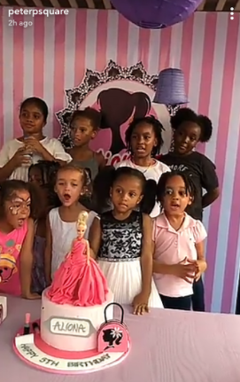 Photos from the 5th birthday party of Peter and Lola Okoye