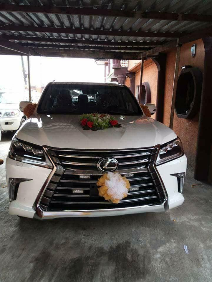 Check out the 2018 Lexus SUV  a church in Warri just bought for their Bishop