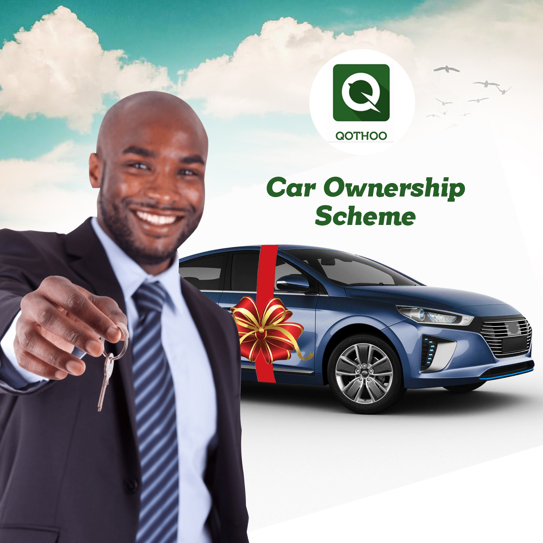 Become an Qothoo partner and benefit from our car ownership scheme