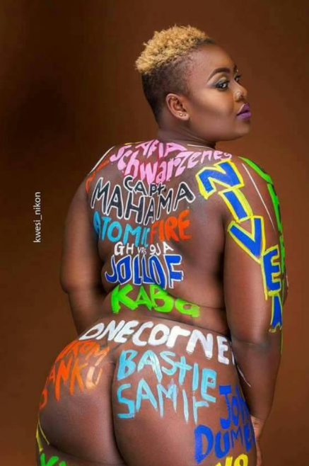 """I will blame myself if I get raped"" Ghanaian nude model says"
