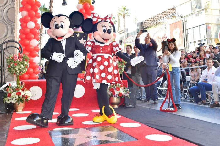 After 90-year wait, Iconic Toon, Minnie Mouse finally receives a star on Hollywood Walk of Fame (Photos/Video)