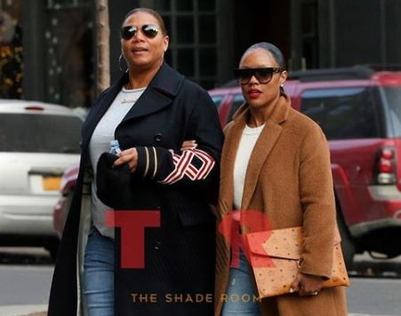 Queen Latifah spotted out with her longtime girlfriend Eboni Nichols in NYC (Photo)