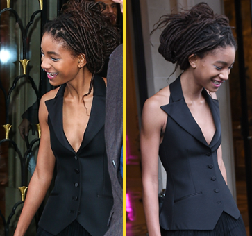 Willow Smith, 17, looks amazing these days
