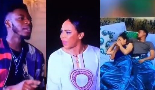 Soma and Tboss nearly come to blows following claims Miyonse had moments with her under the duvet (Video)