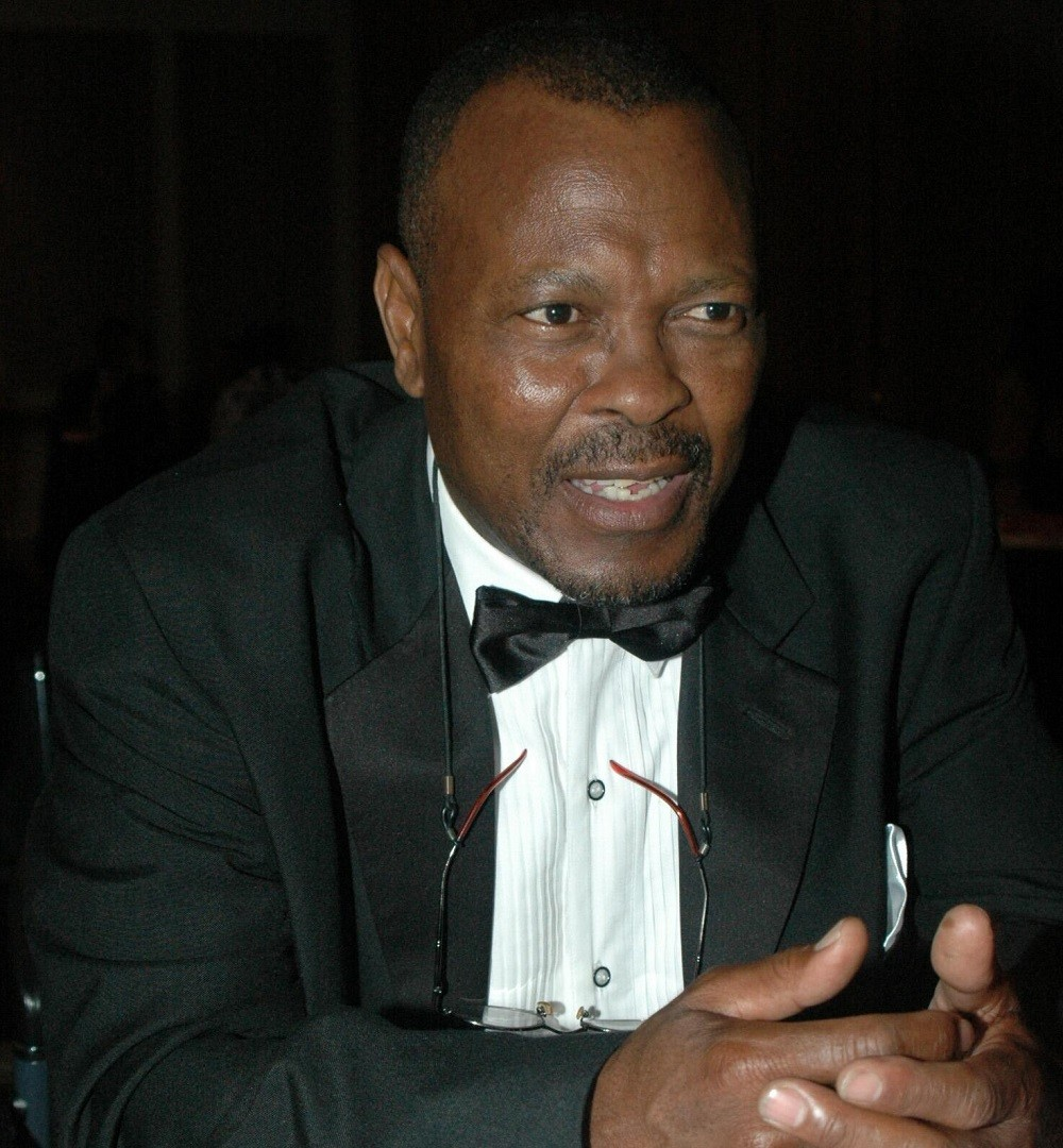 Veteran South African actor, Sandy Mokwena, best known as Eddie Khumalo in