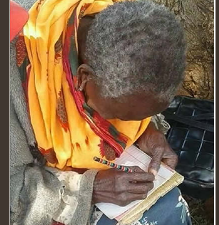 90-year-old grandma begins primary school in Kenya (Photos)