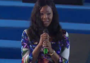Shocking! Stephanie Otobo visits Apostle Suleman