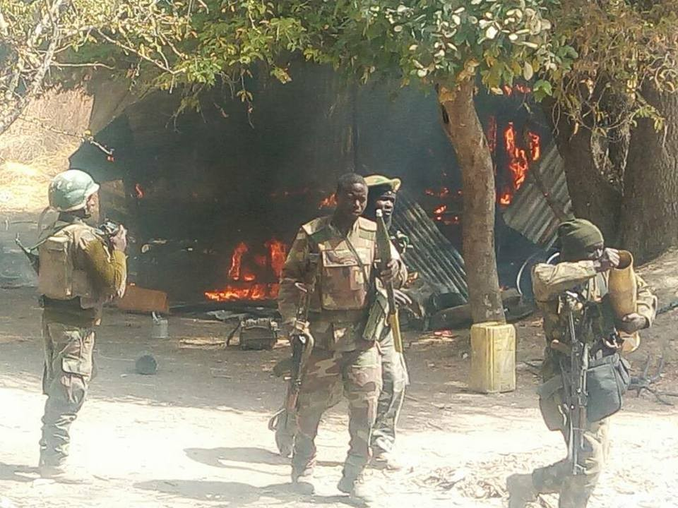 Troops eradicate remnants of Boko Haram terrorists in Sambisa Forest