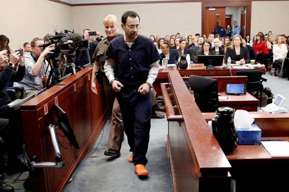 Larry Nassar sex abuse scandal forces the entire USA Gymnastics board to resign