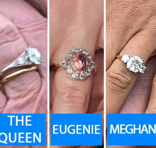 Queen Elizabeth Kate Middleton Princess Diana And Meghan Markle