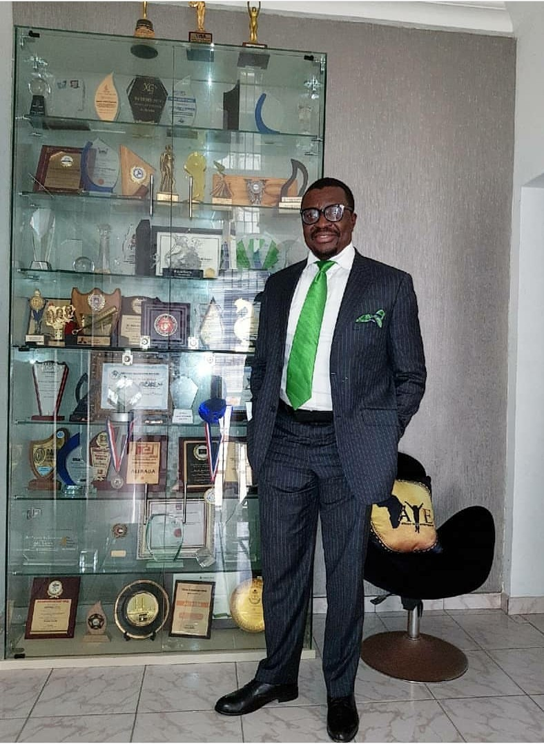 Ali Baba celebrates 30 years of being relevant in the comedy industry, shows off his awards