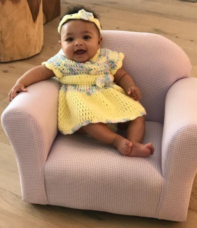 Serena Williams shares adorable new photo of her daughter