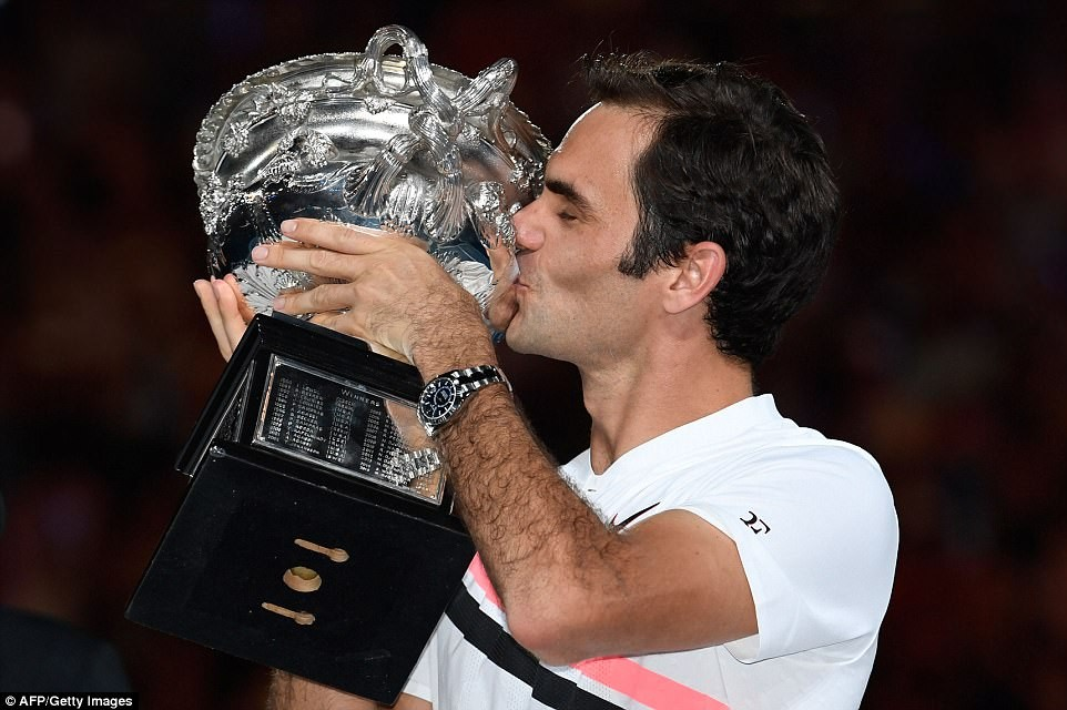 Breaking: Roger Federer wins Australian Open final, becomes the first man to win 20 Grand Slam title (Photos)