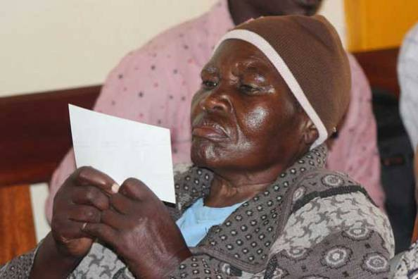 Photo: Kenyan grandmother, 75, seeks end to her 55-year marriage, claiming husband denied her conjugal rights