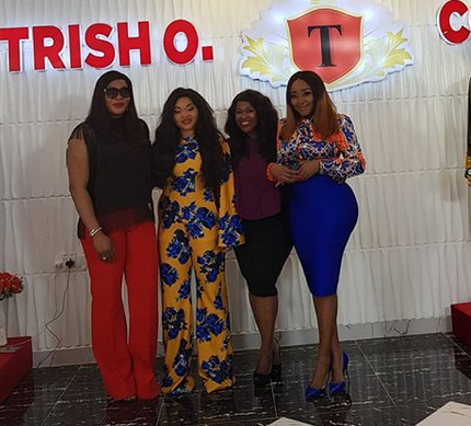 Actress Ini Edo flaunts her curves in leopard print outfit