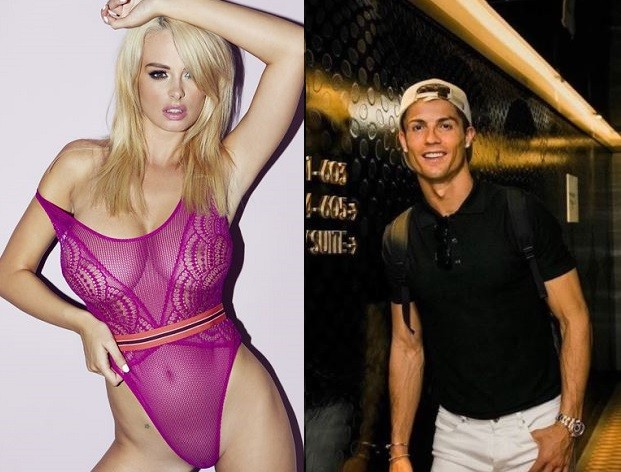 Cristiano Ronaldo accused of sending?