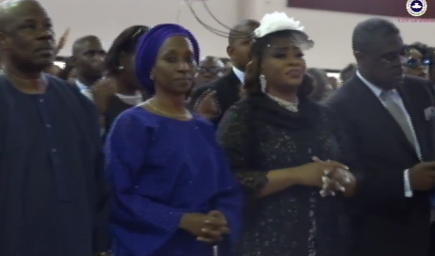 Photos from the Funeral service of late Deji Tinubu