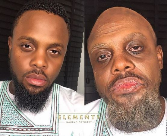 Astonishing transformation of fast rising actor Melvin Oduah (Photo)