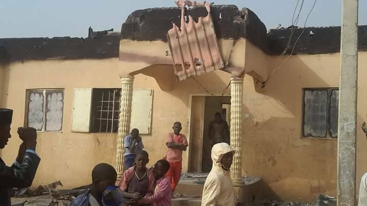 Student burnt to death in his hostel in Sokoto (photos)