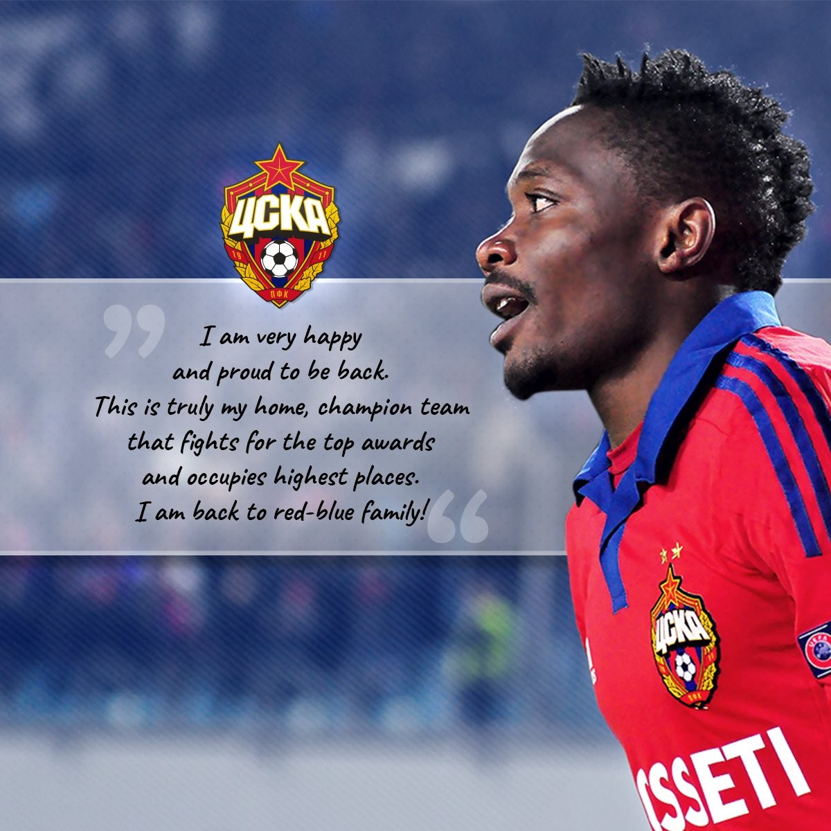 Ahmed Musa rejoins former club CSKA Moscow on loan after failing to impress at Leicester?City