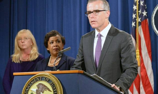 ?FBI deputy director Andrew McCabe steps down after