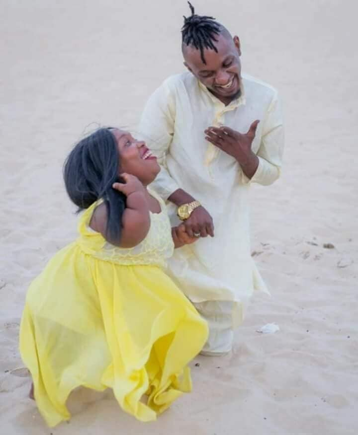 Check out pre-wedding photos of Nigerian man and his special bride-to-be