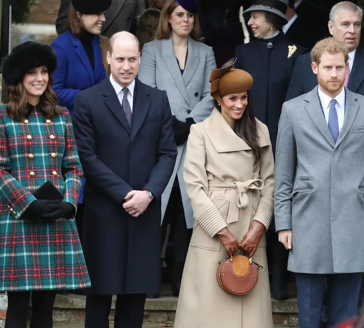 The royal family actually has a Whatsapp group that they are