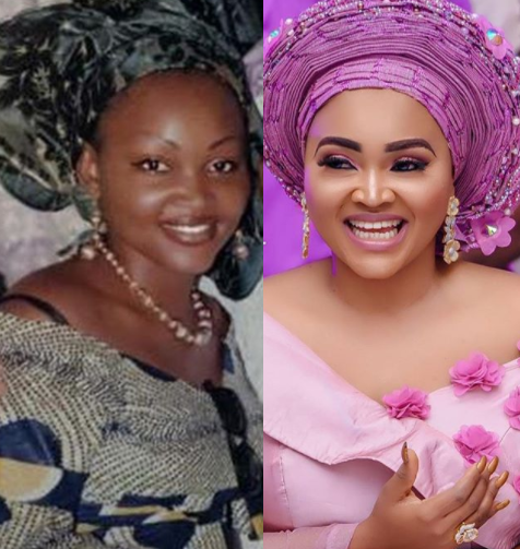 Mercy Aigbe shares epic throwback photo from 12-years ago
