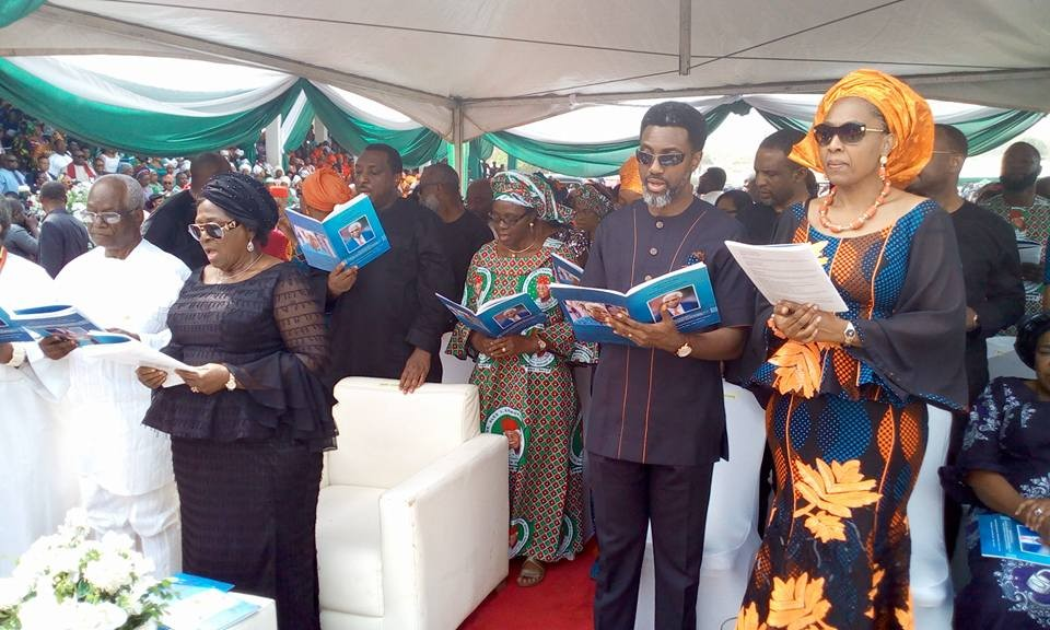 Photos: Atiku, Ekweremadu, S?East Governors, James Ibori, others attend commendation service of Alex Ekwueme