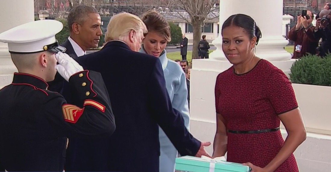 Michelle Obama explains her infamous side eye to Melania Trump