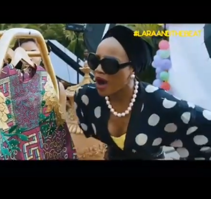 Video: Seyi Shay makes Nollywood debut?