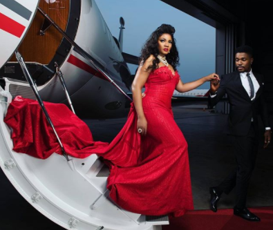 Omotola shares lovely photo from her 40th birthday photo shoot