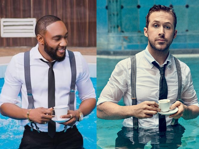 Kcee vs actor Ryan Gosling: Who killed the look? (Photos)