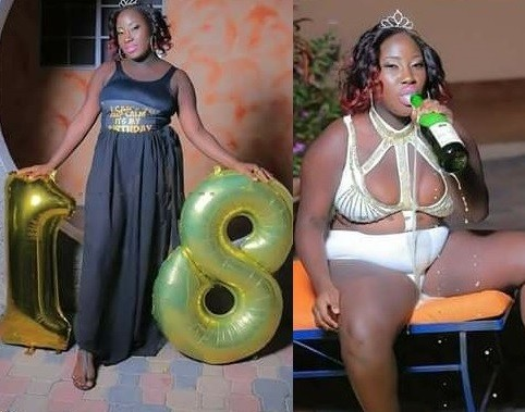 Photos: This Kenyan lady just turned 18, let's wish her happy birthday (Wink)