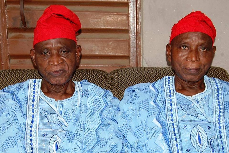 One of Nigeria's oldest male twins celebrate their 85th birthday today!