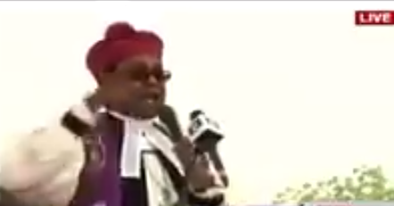 Bishop Chukwuma of the Anglican Diocese of Enugu unleashes on politicians during the funeral mass at late Dr. Ekwueme?s burial (video)
