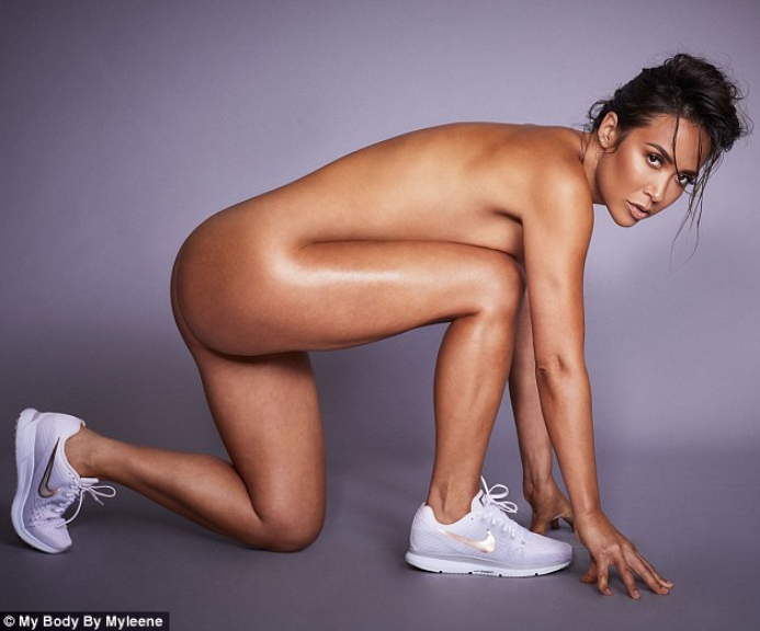 Myleene Klass goes completely nude in photos for the launch of her new fitness venture
